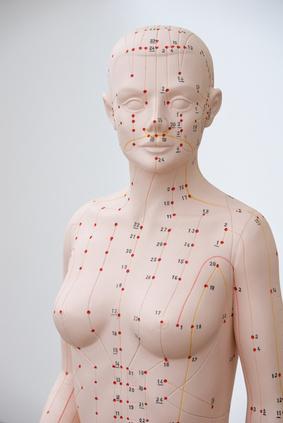 Akupunktur Puppe